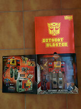 TRANSFORMERS G1 BLASTER WITH STEELJAW UNIVERSE SAN DIEGO COMIC CON 2010 LIKE NEW