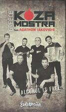 "Press promo dvd/cd Koza Mostra ""Alcohol is free"" Eurovision Greece 2013"