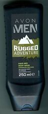 (100 ml = 2,50 €) Avon - Men - Rugged Adventure - Shampoo & Duschgel