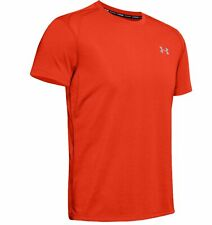Under Armour Streaker 2.0 Short Sleeve Mens Running Top - Orange