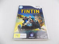 Mint Disc Nintendo Wii The Adventures Of TinTin - Free Postage