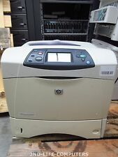 HP LaserJet 4250TN Laser Printer 45 PPM 1200x1200 DPI B&W 64MB Drucker PRINTS OK