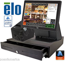 Aldelo 2013 Pro Elo Italian Restaurant All-In-One Complete Pos System New