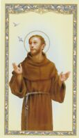 """Prayer of Saint Francis of Assisi""  *Prayer on Back  {Holy Card} (#25)"