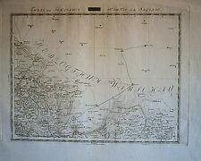 Slesia cartina per signora città/kuttlau/tschirnau 1807 ORIGINALE!