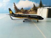 """Herpa Wings 529600  Eurowings Airbus A320 """"BVB ® Mannschaftsairbus"""" H"""