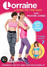 LORRAINE KELLY LIVING TO THE MAX  (UK IMPORT)  DVD NEW