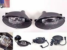 For HONDA LED Fog Lights Set 2008-2010 Accord 2009-2011 Civic Sedan Clear Lens