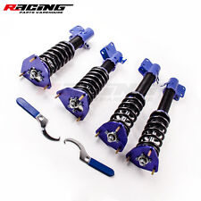 Racing Coilovers Spring struts for Subaru Impreza WRX EJ20 EJ25 GDB Adj Height