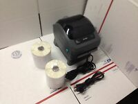 Zebra ZP450 Thermal Label Barcode Printer 500 Labels Free Remote Tech Support