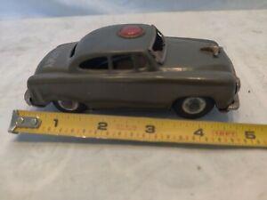 Vintage U.S. Army Staff Car, Friction, Tin Litho, S-1753 nice piece.
