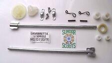 SERIE STERZO scanalato CONTROLLO Rods & Kit montaggio per Li 1&2 LAMBRETTA