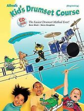 Alfreds Kids Drumset Course Book by Dave & Hought Black Paperback Book