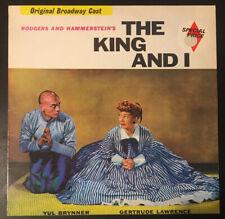 The King And I - Original Cast Recording R&H 1969 Vinyl LP UK MCL1663 VG/VG+