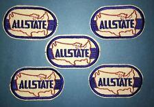 5 Lot Vintage 1970's Allstate Insurance NASCAR Racing Sponsor Hat Jacket Patches