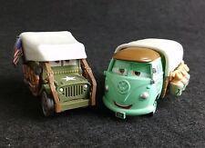 Disney Pixar Cars Lot 2 Stanley Days Sarge & Fillmore Radiator Springs Diecast