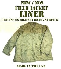 NEW NOS XL US MILITARY M65 FIELD JACKET LINER COAT COLD WEATHER ARMY USMC USAF