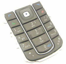 Nokia 6230i Tastatur Matte Keypad Keyboard Tastaturmatte Tastenmatte Schwarz