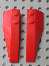 Ailes LEGO STAR WARS Red wedges ref 41747 & 41748 / set 7119 7676 7679 8079 ...