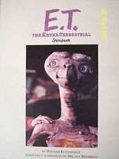 Original E.T. The Extra-Terrestrial Movie Storybook 1982 Steven Spielberg Film