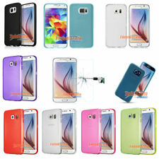 Funda GEL TPU LISA PARA SAMSUNG GALAXY S6 G920 + 1 PROTECTOR NORMAL OPCIONAL