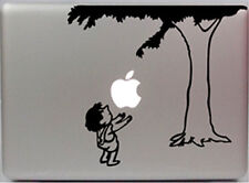 Apple on the Tree Falling Apple Macbook 15 17 Inch Removable Vinyl Sticker Decal