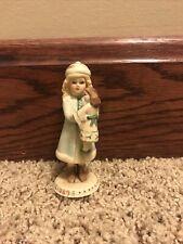 Jan Hagar Collection Doll. Christmas Ornament Holly