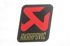 AKRAPOVIC STICKER Exhaust Pipe Labels Motorcycle Badge Heatproof Emblem Decal