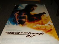"""The World Is Not Enough James Bond movie poster one-sheet, 27""""x40"""""""