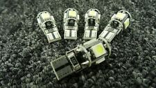 HONDA CAR WHITE LIGHT BULBS LED ERROR FREE CANBUS 5 SMD XENON