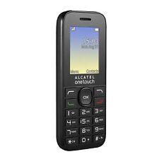 """ALCATEL OneTouch 10.16 G mobile nero 1.8"""" Schermo Con Fm & Torcia Sbloccato"""
