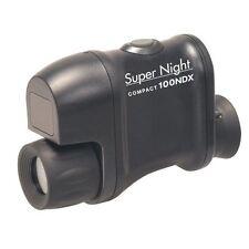 Snooperscope Super Night Compact 100Ndx 2.5x 20 Caliber 145647 Kenko Black New