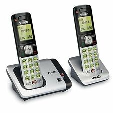 Vtech Wireless Phones | 2 Cordless Dect 6.0 Handsets w/ Caller Id & Call Waiting
