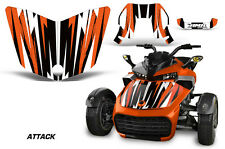 AMR Racing CanAm F3-S Spyder Hood Graphic Kit Wrap Roadster Sticker Decal ATTK O