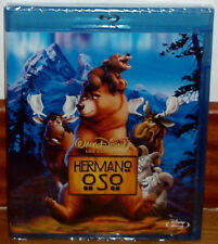 BROTHER BEAR BLU-RAY CLASSIC DISNEY Nº45 NEW SEALED (UNOPENED) R2
