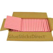 "Pink Faux Wax Glue Sticks 7/16"" X 4"" 5 lbs"