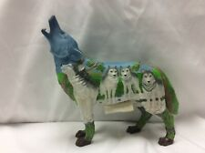 Call of the Wolf Pack Hunt Wolf 2008 #14153 Westland Giftware Figurine retired