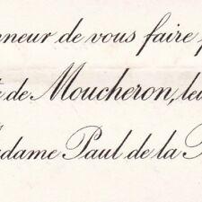 Pierre De Moucheron 1897 Marie Salles De La Raillere