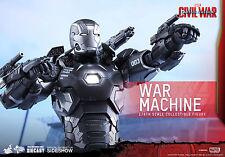 Hot Toys Captain America Civil War Diecast War Machine Mark III 1/6 Scale Figure