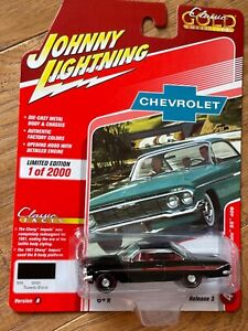 JOHNNY LIGHTNING CLASSIC GOLD 1961 CHEVY IMPALA SS 409 Black 1 of 2000