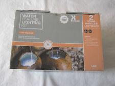 Kelkay water feature lighting kit - 2 string white LED