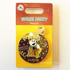 Disney Pin Hong Kong HKDL 2018 Mickey Mouse 90 Years Unlock The Fun Key Pins New