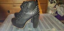 Studded / spiked Heeled Boots