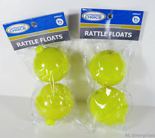 Tournament Choice Rattle Fishing Bobbers/Floats 1 3/4 inch (2 Packs)