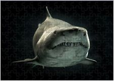 Great White Shark A4 JIGSAW Puzzle Birthday Christmas Gift (Can Be Personalised)