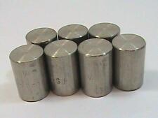"""7 each 1/4"""" FNPT F 304 SS A182 Pipe Cap F304 Stainless Steel New NOS"""