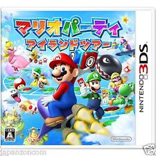 Mario Party Island tour 3DS NINTENDO JAPANESE  JAPANZON