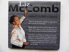 CD Album LIZ MCCOMB Joshua fit the battle of Jericho 2xdvd + CD