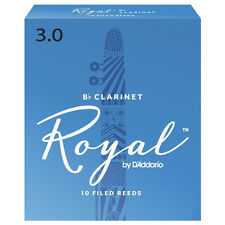 Rico Royal Bb Clarinet Reeds Strength 3 (Box of 10)