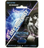 5 Day Forecast 1600 mg Male Herbal Enhancement Supplement 4 Pills authentic